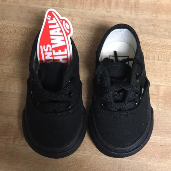 Vans Shoes | Baby Black Vans Brand New